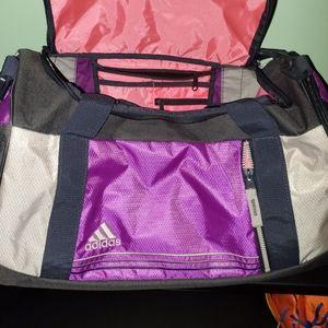 Adidas Duffel gym bag w inside compartments